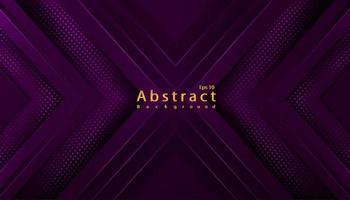 Fondo abstracto de lujo con semitono de decoración papercut vector