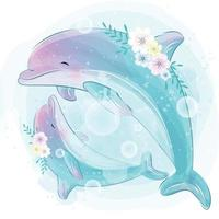 Dolphin Vector Art Icons And Graphics For Free Download