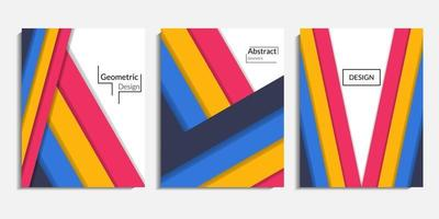 Cover design, modern abstract minimalist background vector