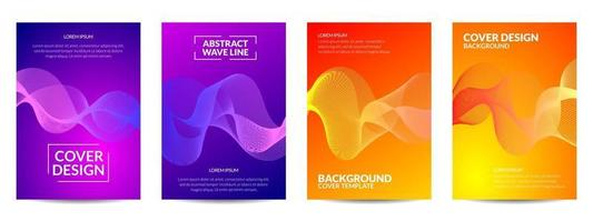 Cover Design abstract wavy line