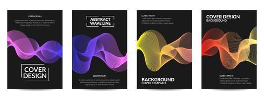 Cover design geometric vector