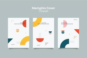 Chic memphis 90's pattern cover
