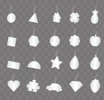 Air Freshener shapes vector