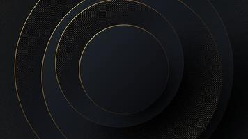 Luxury abstract background in the form of circles. vector