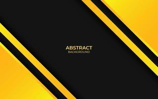 diseño de fondo amarillo y negro vector