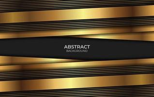 Background Design Gold And Black Style vector