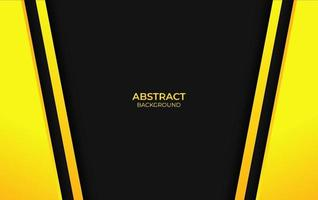 Design Abstract Yellow And Black
