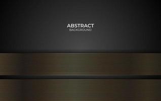 diseño de fondo de oro línea abstracta vector
