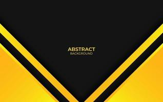 color abstracto fondo amarillo y negro vector