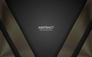 Background line gold design style vector