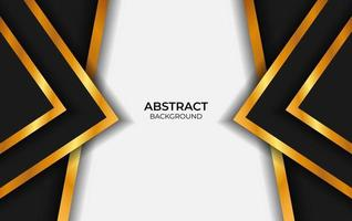 Background Design Black And Gold vector