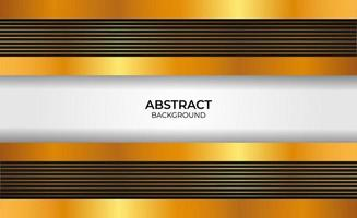 Abstract gold and black background