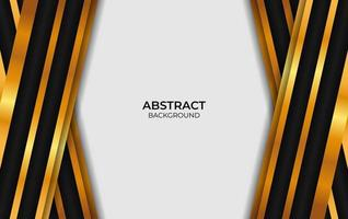 Background Luxury Abstract Black And Gold vector