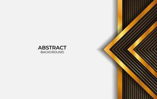 Background Luxury Black And Gold vector