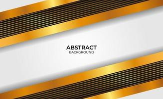 Abstract style gold and black