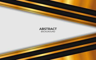 Luxury Design Abstract Black And Gold vector