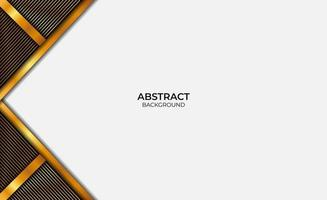 Abstract Background Luxury Gold And Black Design vector