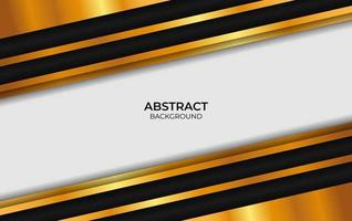 Background Luxury Design Black And Gold vector