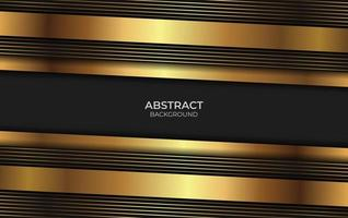 Background Abstract Gold And Black vector