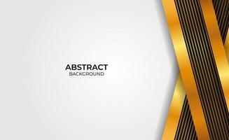 Abstract background gold and black