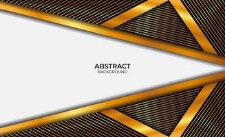 Design Luxury Gold And Black Background vector