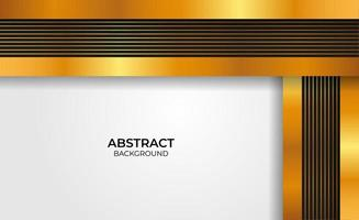 Abstract gold and black design