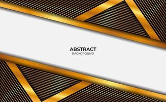 Background Luxury Gold And Black vector