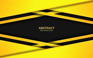 Abstract Yellow And Black Background