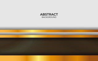 Abstract Design Black And Gold Background vector