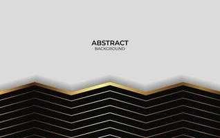 Abstract Design Background Gold And Black vector
