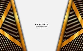 Luxury Abstract Gold And Black Style Design