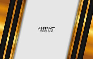 Abstract Background Black And Gold vector