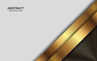 Abstract Background Gold And Black vector