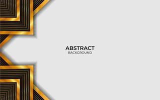 Luxury Black And Gold Abstract Background vector