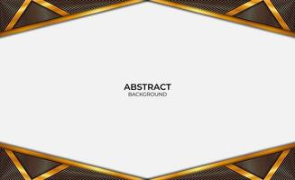 Background Abstract Luxury Gold And Black vector