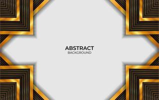 Design Black And Gold Abstract Background vector