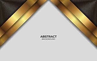 Background Gold And Black Design vector