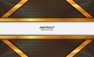 Luxury Abstract Gold And Black Background vector