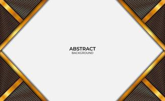 Luxury Abstract Design Gold And Black vector