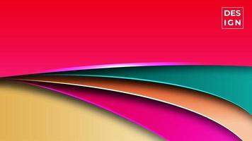 colorful gradient modern abstract background. Geometric shapes background. can use for business, presentation, web banner, background. vector