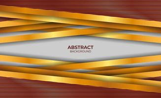 Design Luxury Style Background Red And Gold vector