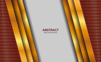 diseño de fondo rojo y dorado estilo vector