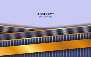 Luxury Design Purple And Gold Background vector