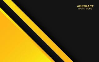Design Background Abstract Yellow And Black vector