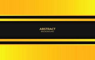 fondo abstracto color amarillo y negro vector