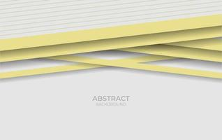 Background Style White And Yellow Design vector