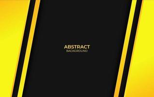 fondo abstracto amarillo y negro vector