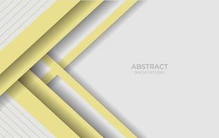 Abstract White And Yellow Design Style vector