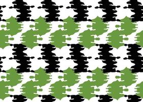 Vector texture background, seamless pattern. Hand drawn, green, black, white colors.