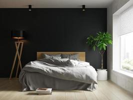 Interior de una moderna sala de estar en 3D. foto